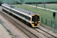 PHOTO  CLASS 158 LOCO NO 158773 AT NR PETERBOROUGH 1992