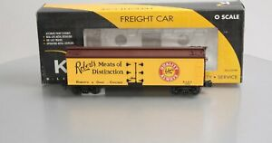 K-Line K742-8014 Roberts Meat Reefer Car LN/Box