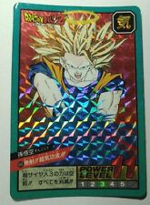 DRAGON BALL POWER LEVEL SUPER BATTLE PART 12 NO:496 PRISM CARDS