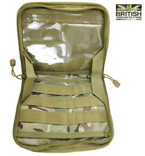 Army Combat Military Surplus BTP Camo Map  Folder Bag Commanders Panel Pouch New