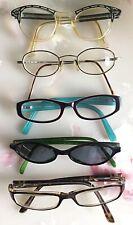 Vintage Lot of 5 Designer Eyeglass Frames- RayBan Kate Spade Guess Pierre Cardin