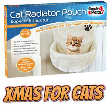 Cat Kitten Radiator Pouch Bed Basket Warm Fleece Cradle Hammock Plush Hanging