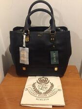 Lauren Ralph Lauren Morrison Leather Satchel Shoulder Bag RRP £310