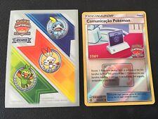 Staff Pokemon Communication LAIC Latin America International Holo Promo Card