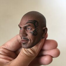 █ Custom Mike Tyson 1/6 Head Sculpt for Hot Toys Body Boxing King Tattoo █