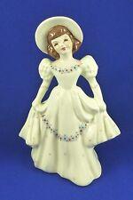 "Vintage Florence Ceramics Girl Lady Figurine Bud Vase California Pottery 7"""