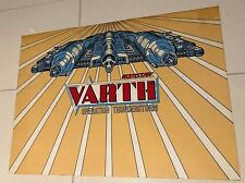 Original Varth Operation Thunderstorm CPO Arcade Official NEW Sticker
