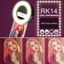 USB Selfie Flash LED Ringleuchte Handy-Kamera Ringlicht für iPhone