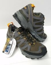 AHNU RIDGECREST DARK OLIVE WATERPROOF HIKING MENS SHOES SIZE US 7 NEW