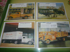 1936 Chevrolet Sales Brochure Pictures - 1 1/2 Ton Pickup Stake Semi Express