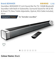 Odine 1 Soundbar 80w Peak Power Bluetooth 5.0, Usb, Optical