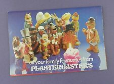 Disco de 1970s Juguetes plastercasters catálogo, Muppets, Pitufos, Paddington-tipo 2