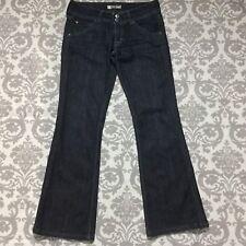 "Hudson Womens Jeans size 28 size 6 Dark Wash Boot Cut Cotton Stretch 31"" inseam"