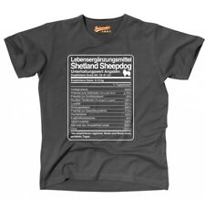 Shirt unisex dosis Shetland Sheepdog vida suplementos hombres perro Sheltie