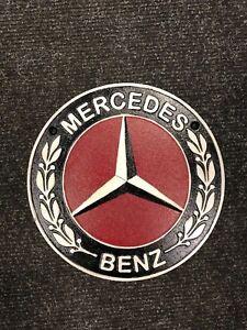 cast iron Mercedes benz sign