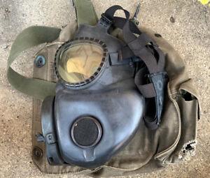 US Military Issue M17 Gas Mask Respirator Size Medium w/ Bag