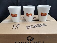 12 x KAHLUA Cafe Latte 12 oz / 34cl Mugs