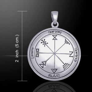 First PENTACLE of JUPITER 5cm 925 silver pendant by Peter Stone
