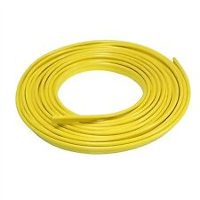 """Yellow Gap Trim for Car SUV Truck Interior and Exterior 18"""" Feet Long"""