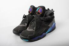Air Jordan 8 Retro Black Red Grey Concord Mens Sneakers UK 8/US 9
