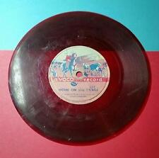 VINTAGE 1950's CHILDREN'S A VOCO RECORD 45 RPM - HOME on the RANGE - WHAT WOULD