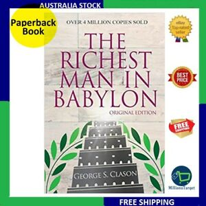 The Richest Man In Babylon - Original Edition Paperback Book - NEW FREE SHIPPING