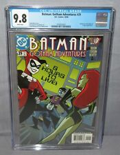 BATMAN: GOTHAM ADVENTURES #29 (Harley Quinn, Poison Ivy) CGC 9.8 NM/MT DC 2000