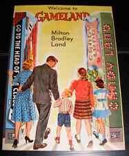 Vintage Milton Bradley Gameland Advertisement