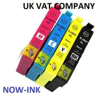 Non OEM 29XL INK CARTRIDGES FOR EPSON XP-245 XP-247 XP-342 STRAWBERRY MULTIPACK