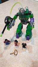 Lego Super Heroes Superman vs. Power Armor Lex (6862) w/ All Minifigs, 1 pc miss