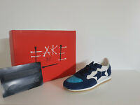 Sneakers Donna Ishikawa By Fake Sconto - 40 % Art. Running 080 Col. Blu