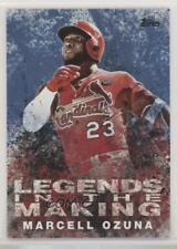 2018 Topps Legends in the Making Series 2 Blue Marcell Ozuna #LITM-12