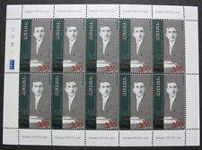 Armenien Armenia 2003 Siamanto Dichter Literatur 486 Kleinbogen Postfrisch MNH