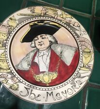 Royal Doulton Plate The Mayor Pottery Antique