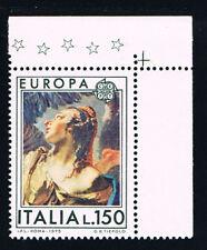 ITALIA 1 FRANCOBOLLO EUROPA CEPT 150 LIRE 1975 nuovo** (BI11.522)