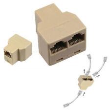 CAT SDOPPIATORE 5E ETHERNET SPLITTER RJ45 NETWORK CAVO LAN gv