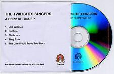 TWILIGHT SINGERS A Stitch In Time UK 5trk promo test CD