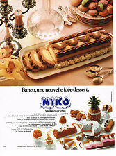 PUBLICITE ADVERTISING  1975    MIKO  glaces BANCO