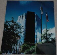 """Photo Print Brickell Miami 20"""" X"""" 16"""" Artwork Reproductio Unsigned 1979-1989 USA"""