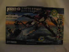 New KRE-O BATTLESHIP 38955 ALIEN STRIKE 277  PIECES HASBRO & 4 FIGURES INCLUDED