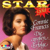 (CD) Connie Francis - Star Gold - Schöner Fremder Mann, Paradiso, u.a.