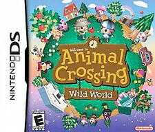 Animal Crossing: Wild World (Nintendo DS, 2005) - USA VERSION, GAME ONLY TESTED