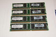 SMART MODULAR 1GB (256MB X 4) SM5643285D8N6CLIBH DDR PC2700 333MHZ CL2.5 184 PIN