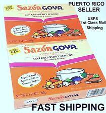 Puerto Rico Sazon GOYA Seasoning PowderSpice CilantroAnnato LatinCooking FoodIAZ