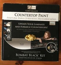 Giani Countertop Paint Kit, Bombay Black NEW In Box Never Used Laminate Formica