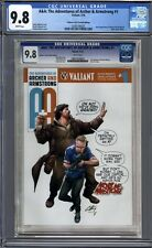 A&A: The Adventures of Archer & Armstrong #1  Valiant & CGC Variant    CGC 9.8