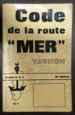 Livre « Code de la route Mer » édition Vagnon 1972