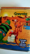 24 Crayola Discovery Limited Edition Tin Box 1998 Number 5 Desert Oasis New