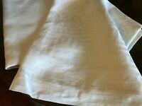 Vintage white tablecloth