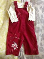 Humphrey's Corner Girls Dungaree Set 6-9mths